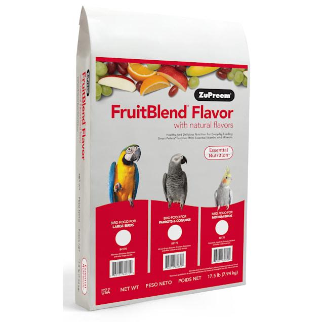 ZuPreem AvianMaintenance FruitBlend Premium Bird Diet for Medium Birds - Carousel image #1