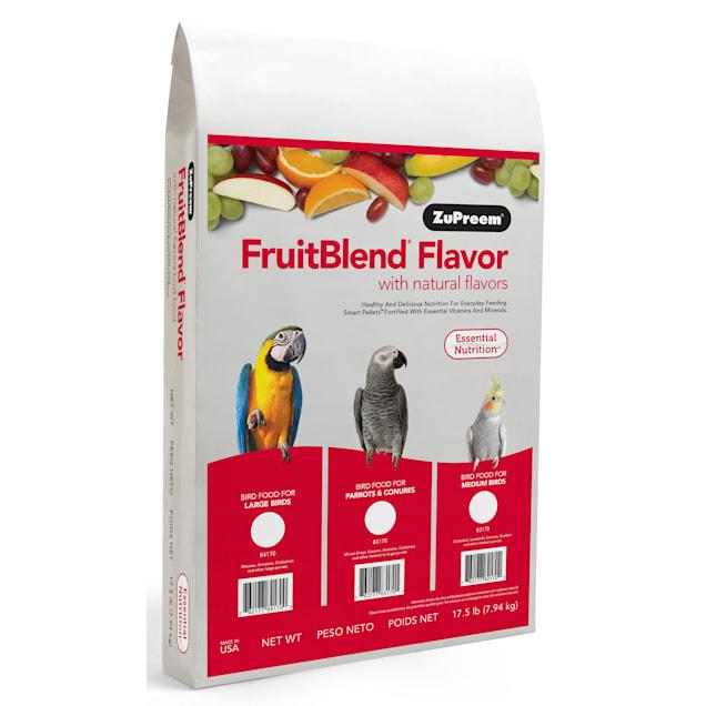 ZuPreem AvianMaintenance FruitBlend Bird Diet for Large Birds - Carousel image #1