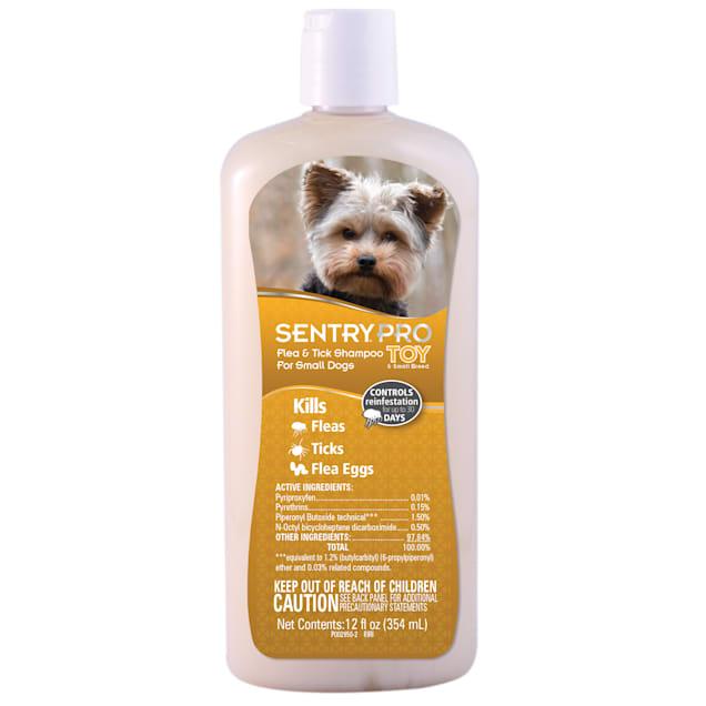 Sentry Pro Toy & Small Breed Dog Flea & Tick Shampoo, 12 fl. Oz. - Carousel image #1