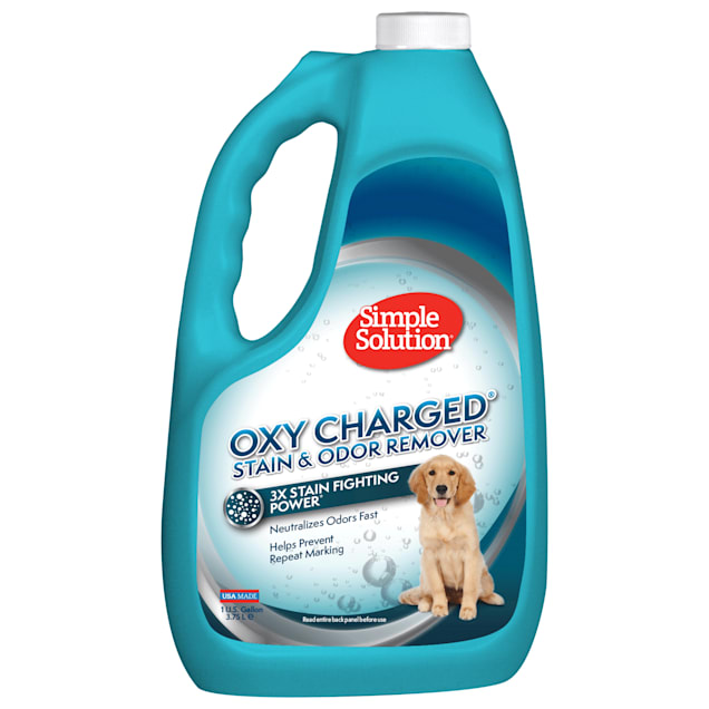 Simple Solution Oxy Charged Stain and Odor Remover for Pets, 1 Gallon - Carousel image #1