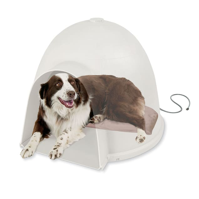"""K&H Lectro-Soft Igloo-Style Heated Dog Bed, 17.5"""" L x 30"""" W - Carousel image #1"""