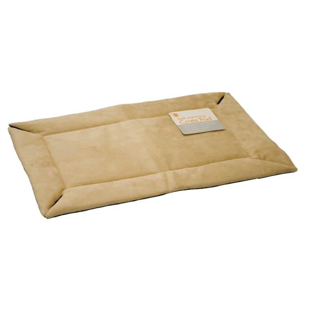 """K&H Tan Self Warming Crate Pad, 22"""" L X 14"""" W X 1"""" H - Carousel image #1"""