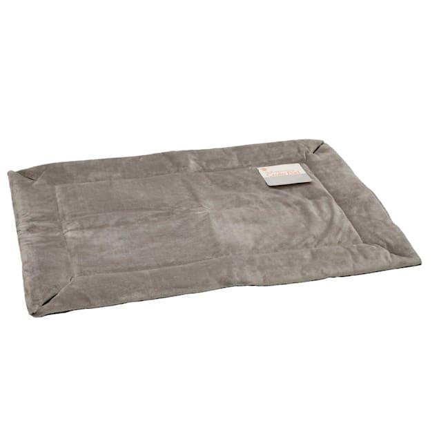 "K&H Gray Self Warming Crate Pad, 22"" L X 14"" W X 1"" H - Carousel image #1"