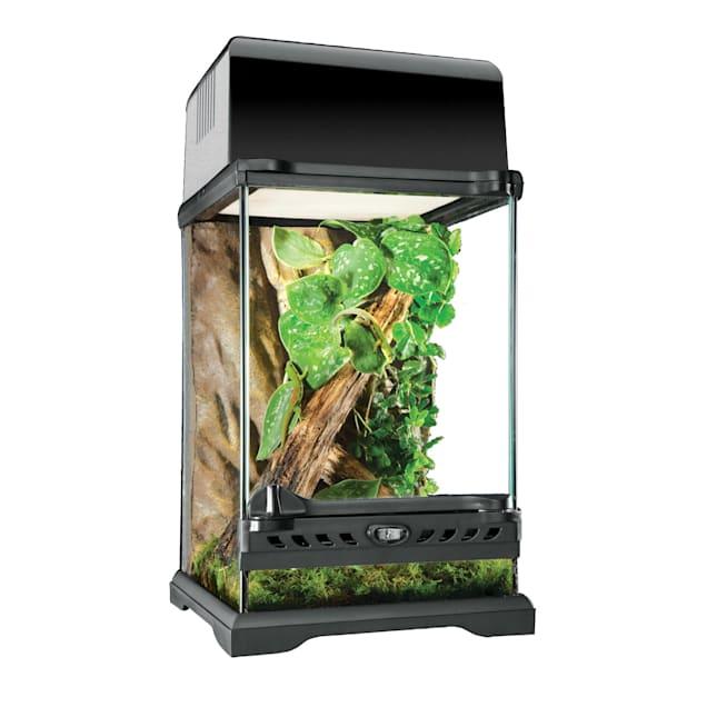 "Exo-Terra Nano Glass Terrarium, 8"" L X 8"" W X 12"" H - Carousel image #1"