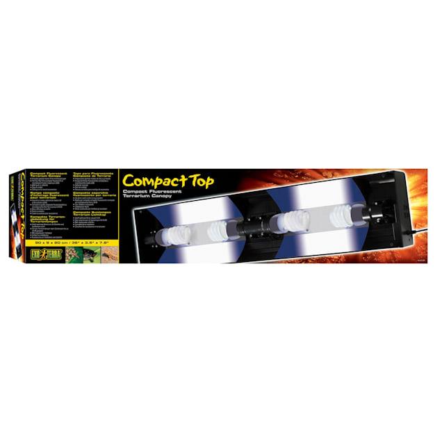 Exo-Terra Plastic Terrarium Canopy, Large - Carousel image #1