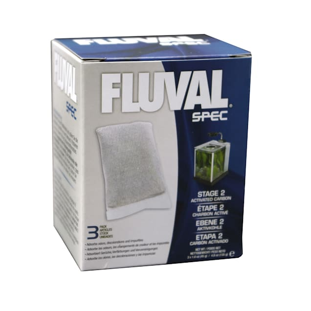 Fluval Spec Carbon Replacement Pack, 3-pack - Carousel image #1