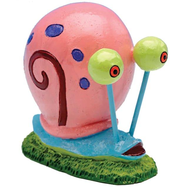 "Penn Plax SpongeBob Gary Aquarium Ornament, .75"" L X .75"" W X 2"" H - Carousel image #1"