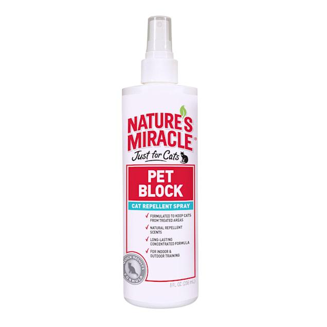 Nature's Miracle Pet Block Cat Repellent, 8 fl. oz. - Carousel image #1