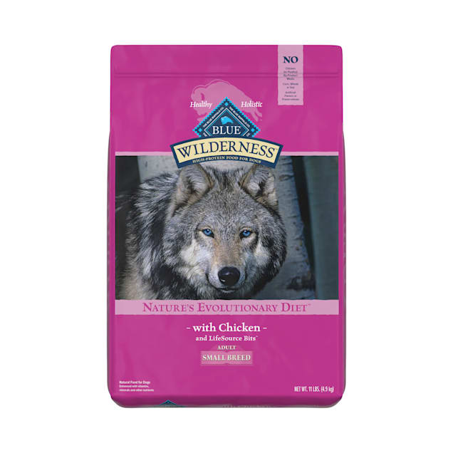 Blue Buffalo Blue Wilderness Small Breed Adult Chicken Recipe Dry Dog Food, 11 lbs. - Carousel image #1