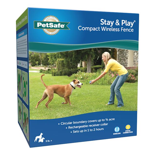 PetSafe Stay & Play Compact Wireless Fence for Dogs - Carousel image #1