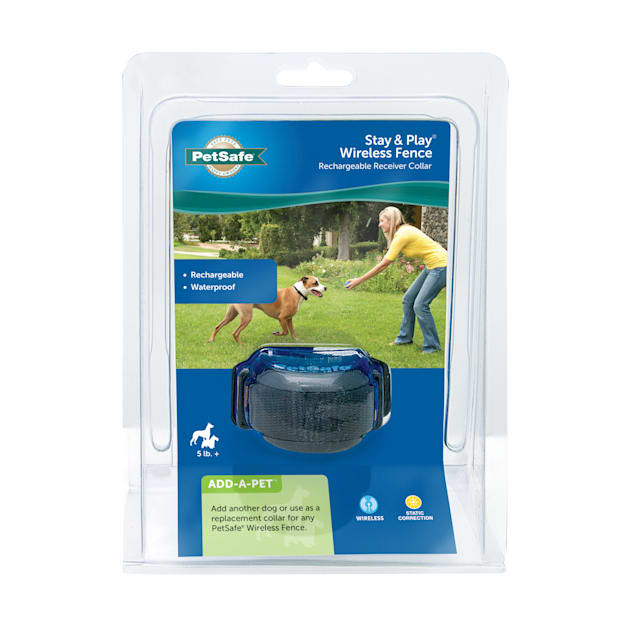 PetSafe Stay & Play Wireless Fence Rechargeable Receiver Collar for Dogs - Carousel image #1