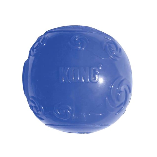 KONG Squeezz Ball Dog Toy, Medium - Carousel image #1