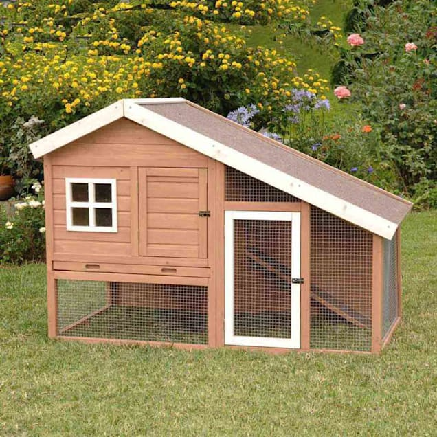 Precision Pet Cape Cod Chicken Coop or Rabbit Hutch - Carousel image #1