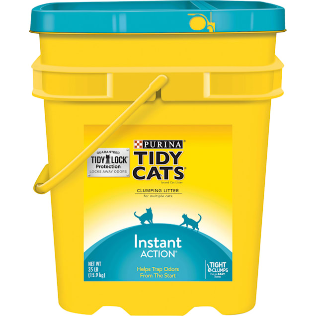 Purina Tidy Cats Clumping Instant Action Multi Cat Litter, 35 lbs. - Carousel image #1