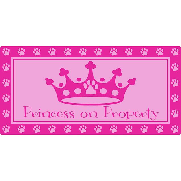 "Hillman Sign Center -- Princess on Property, 10"" L X 5"" H - Carousel image #1"