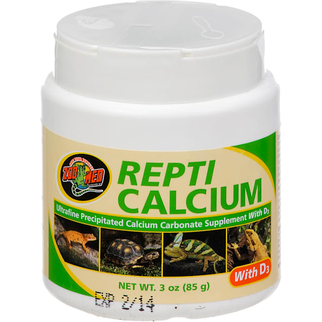 Zoo Med Repti Calcium with D3 Reptile Supplement - Carousel image #1