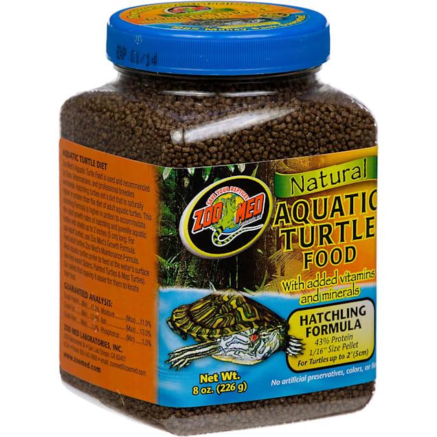 Zoo Med Natural Hatchling Formula Aquatic Turtle Food - Carousel image #1