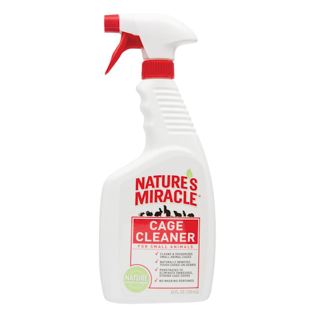 Nature's Miracle Cage Cleaner for Small Animals, 24 fl. oz. - Carousel image #1
