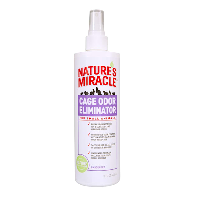 Nature's Miracle Cage Odor Eliminator for Small Animals, 16 fl. oz. - Carousel image #1