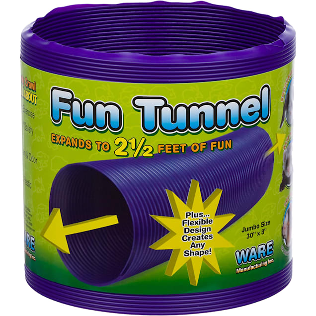 "WARE Fun Tunnel for Small Animals, 30"" L X 8"" Diameter - Carousel image #1"