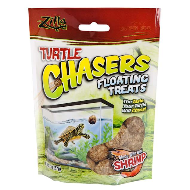 Zilla Shrimp Turtle Chasers Aquatic Turtle Treats, 2 oz. - Carousel image #1