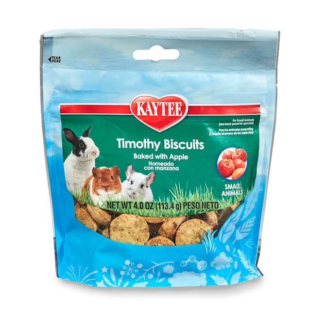 Kaytee Timothy Hay Baked Apple Small Animal Treats, 4 oz. - Carousel image #1