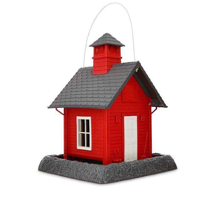 "North States Schoolhouse Bird Feeder, 10.3"" L X 9.5"" W X 13.25"" H - Carousel image #1"