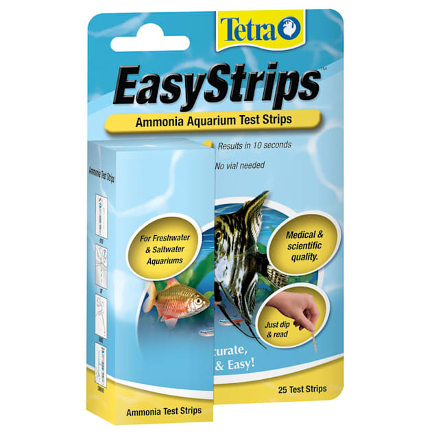 Tetra Easy Strips Water Testing Ammonia For Aquariums, 25 Count - Carousel image #1