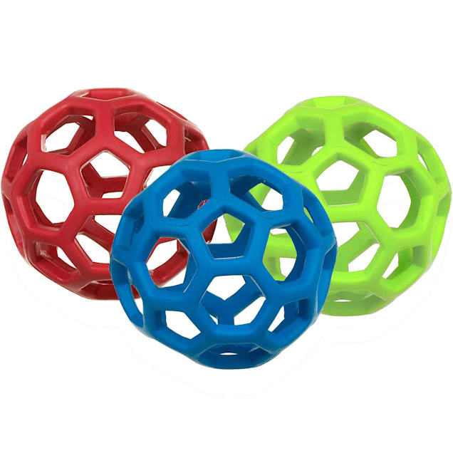 """JW Pet Hol-EE Roller Dog Toy, X-Small, 2.5"""" D - Carousel image #1"""