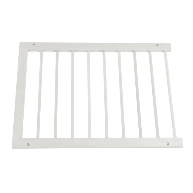 Cardinal Gates White Step-Over Pet Gate Extension - Carousel image #1