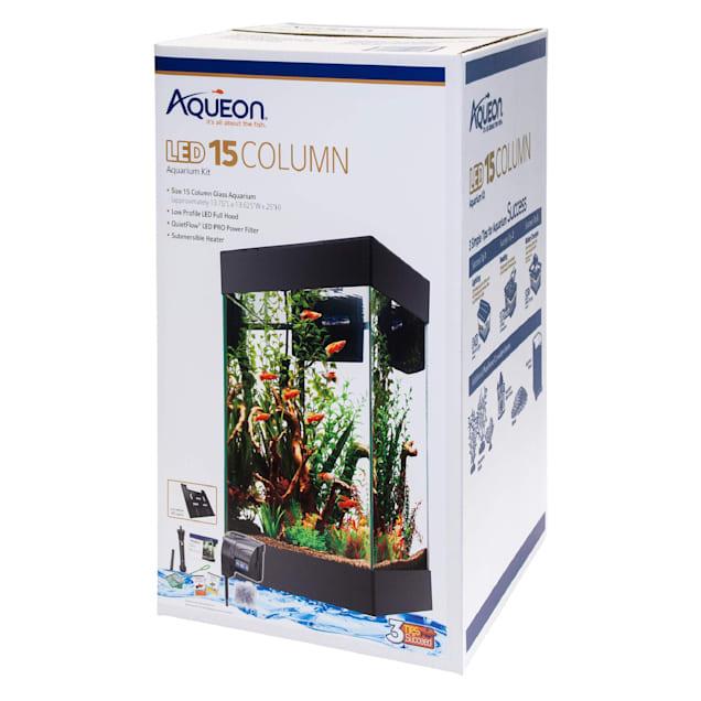 Aqueon 15 Column LED Aquarium Starter Kit - Carousel image #1