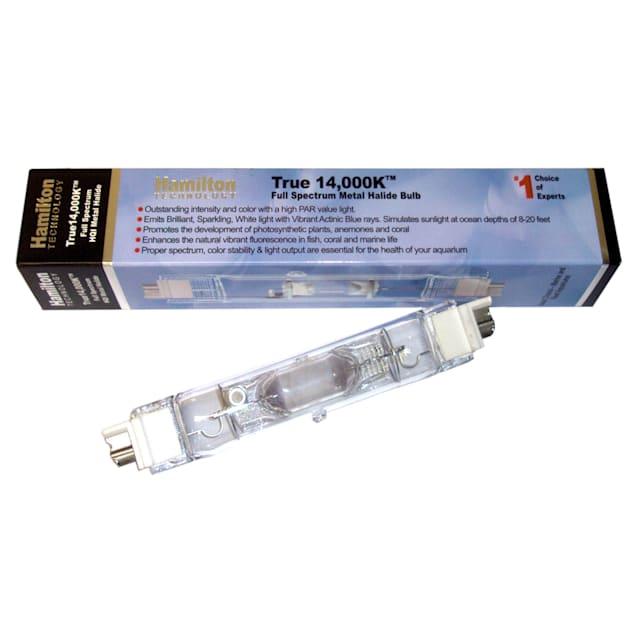 Hamilton Technology Metal Halide HQI 250W 14,000K Double Ended Aquarium Light Bulb - Carousel image #1