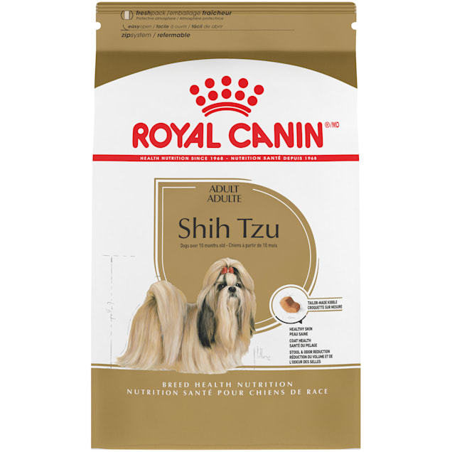 Royal Canin Breed Health Nutrition Shih Tzu Adult Dry Dog Food, 10 lbs. - Carousel image #1
