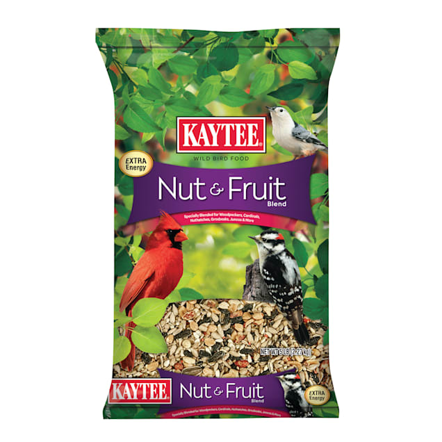 Kaytee Nut & Fruit Blend Wild Bird Food, 5 lbs. - Carousel image #1
