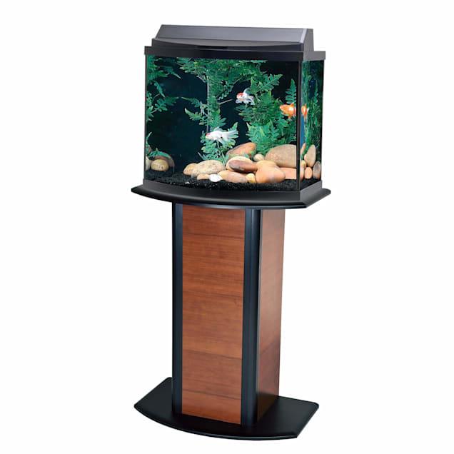 Aqueon Cherry Bow Front Aquarium Stand - Carousel image #1
