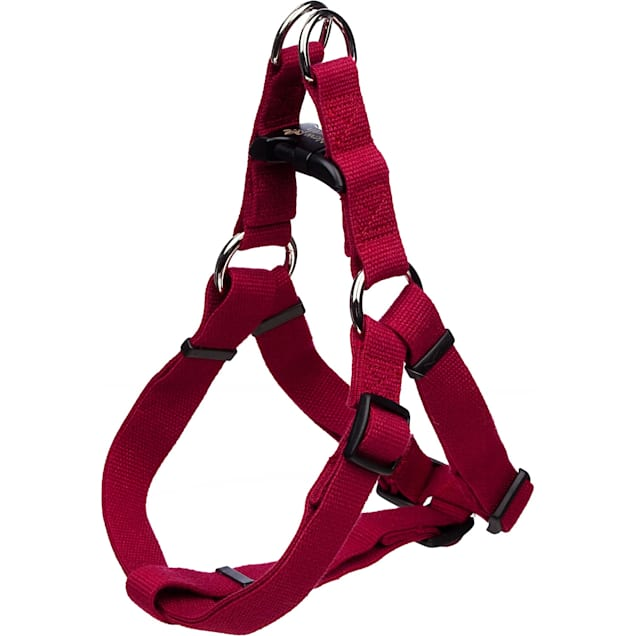 Coastal Pet New Earth Adjustable Personalized Soy Comfort Wrap Dog Harness in Cranberry - Carousel image #1
