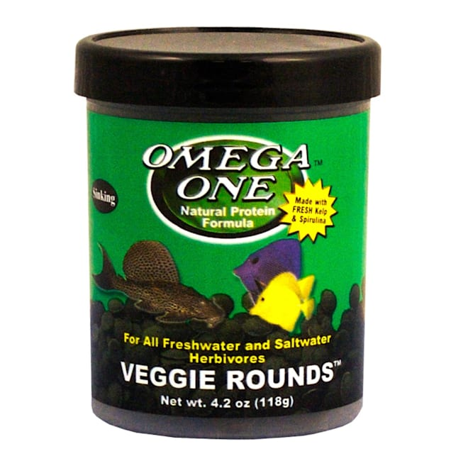 Omega One Veggie Rounds, 4.2 oz. - Carousel image #1