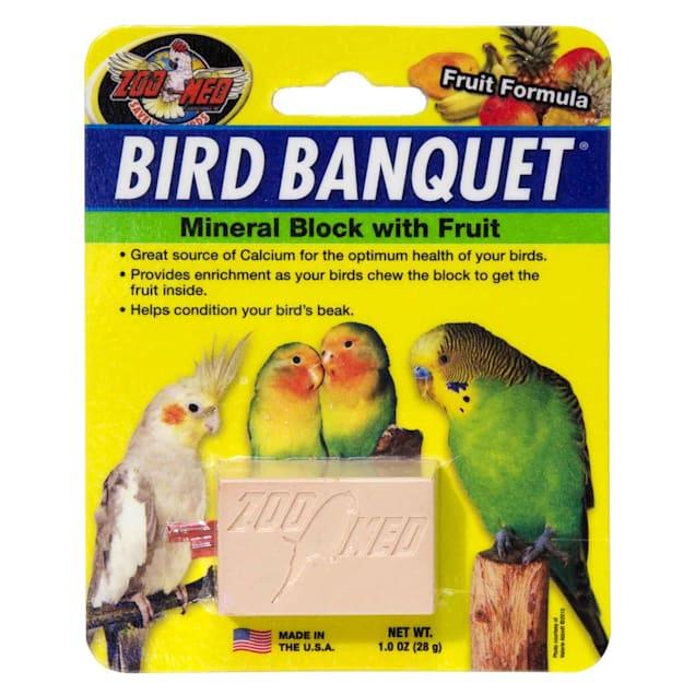 Zoo Med Fruit Bird Banquet Block, Small - Carousel image #1