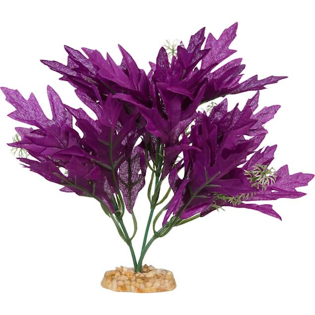 Imagitarium Purple Bunch Silk Aquarium Plant - Carousel image #1