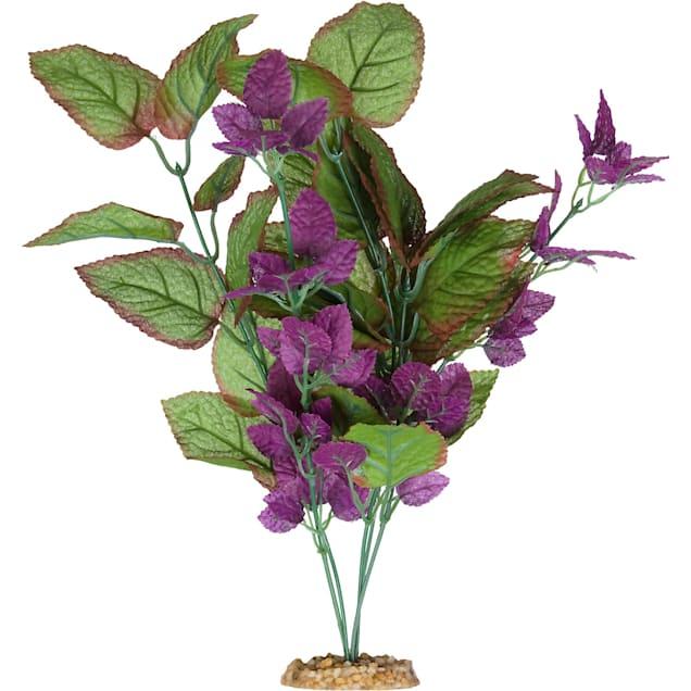 Imagitarium Purple Cluster Silk Aquarium Plant - Carousel image #1