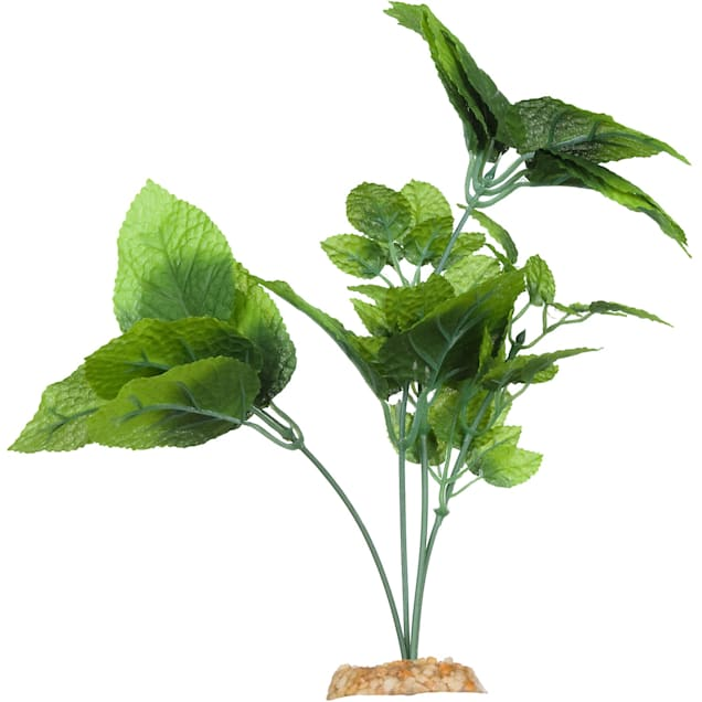 Imagitarium Natural Green Silk Aquarium Plant - Carousel image #1