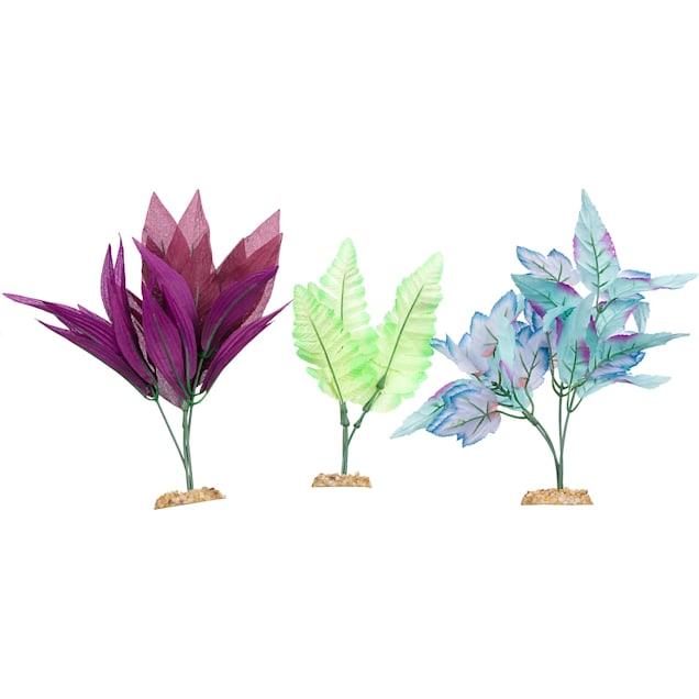 Imagitarium Midground Plant Multi-Pack Silk Aquarium Plants - Carousel image #1