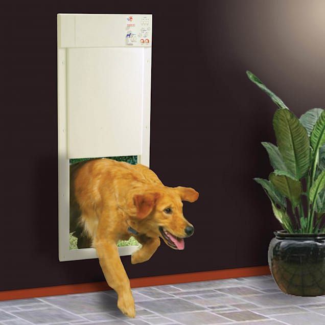 High Tech Pet Power Pet Door For Door and Wall Installations, Large - Carousel image #1