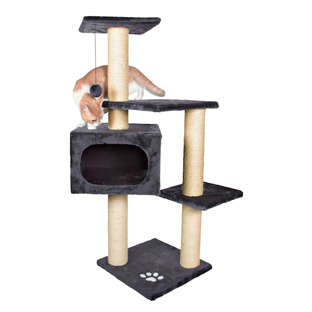 "Trixie Palamos Cat Tree in Anthracite, 42.75"" H - Carousel image #1"