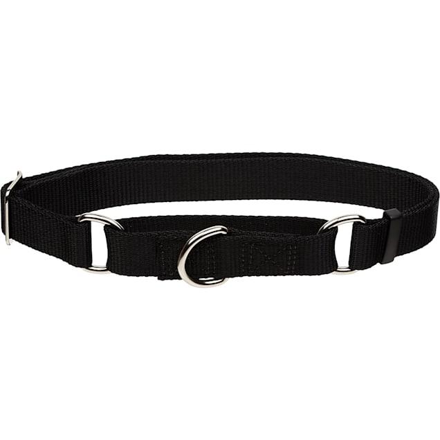 "Coastal Pet No Slip Personalized Dog Collar in Black, 1"" Width - Carousel image #1"