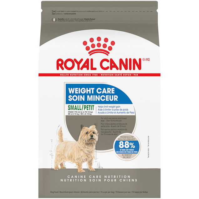 Royal Canin Weight Care Adult Dry Dog Food for Small Breeds, 2.5 lbs. - Carousel image #1