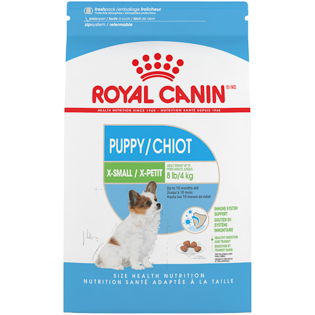 Royal Canin X-Small Puppy Dry Food, 3 lbs. - Carousel image #1