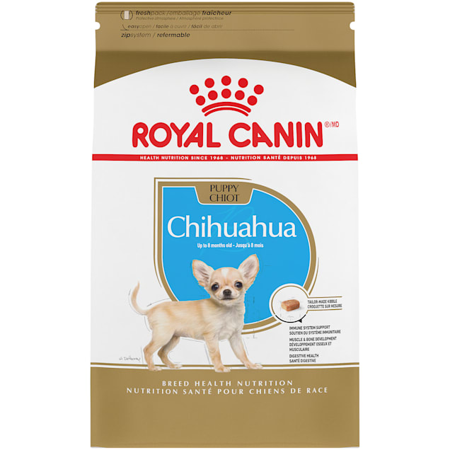Royal Canin Breed Health Nutrition Chihuahua Puppy Dry Dog Food, 2.5 lbs. - Carousel image #1