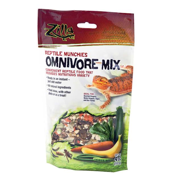 Zilla Omnivore Reptile Munchies Reptile Food, 4 oz. - Carousel image #1