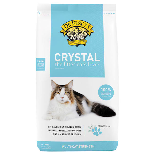 Dr. Elsey's Crystal Cat Litter, 8 lbs. - Carousel image #1